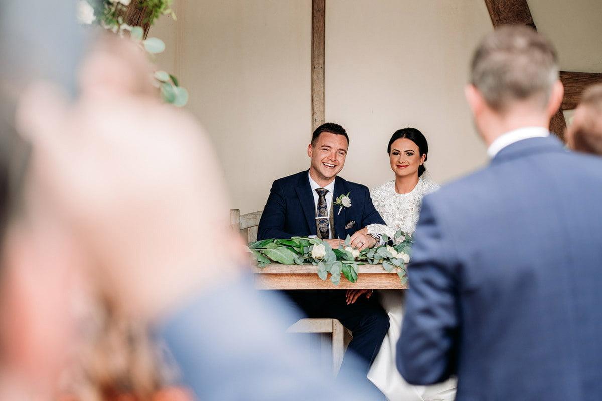 Kingscote Barn Wedding, Cotswolds 17