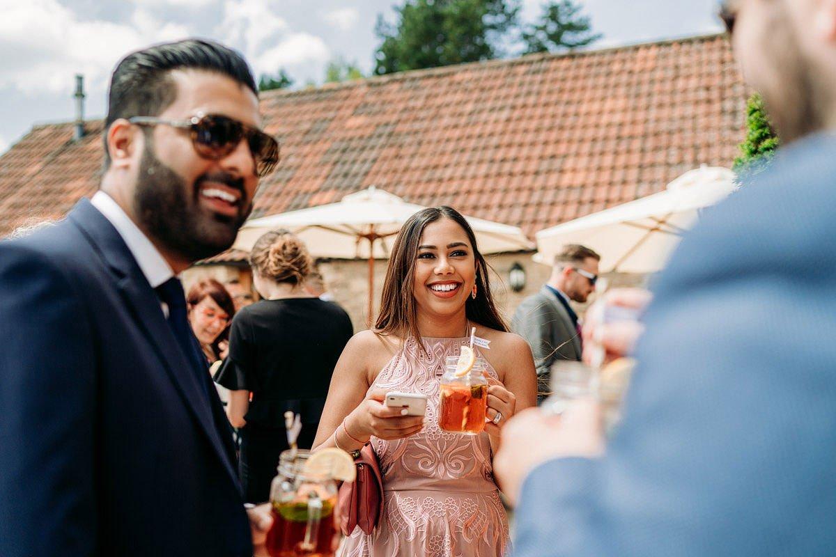 Kingscote Barn Wedding, Cotswolds 32