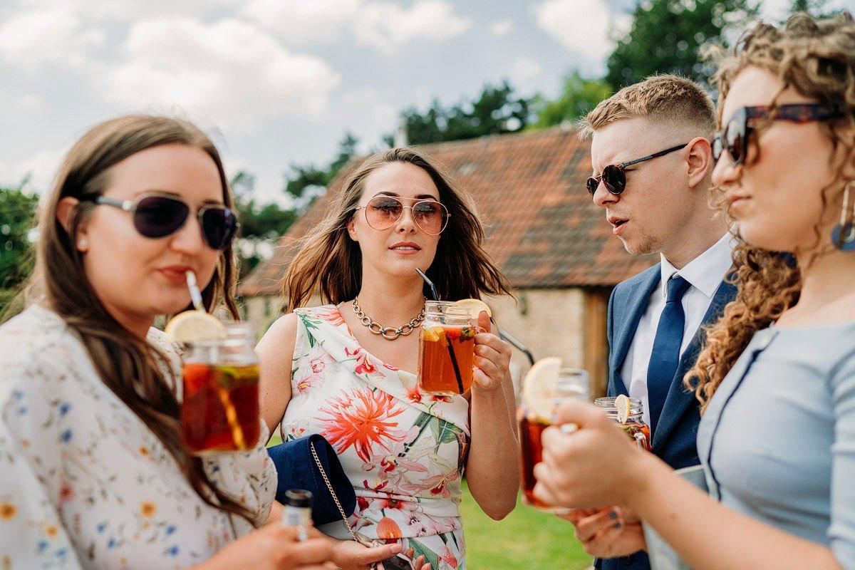 Kingscote Barn Wedding, Cotswolds 35