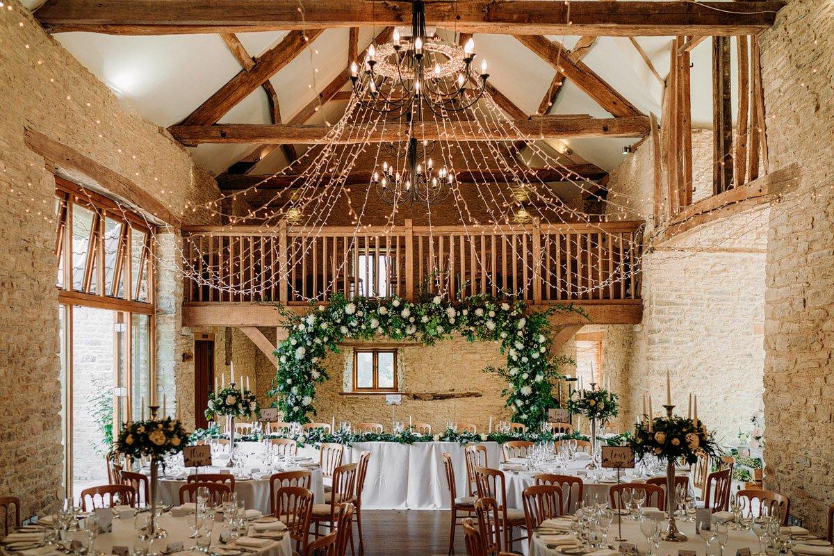 Kingscote Barn Wedding, Cotswolds 24