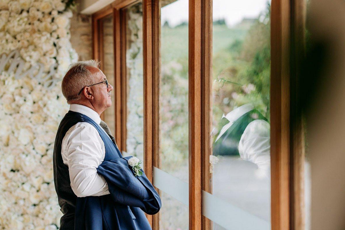 Kingscote Barn Wedding, Cotswolds 11