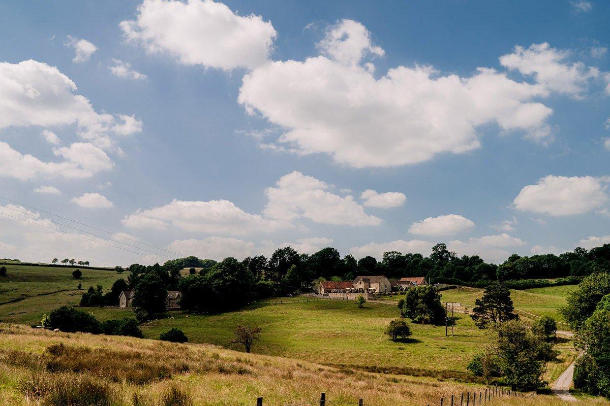 Kingscote Barn Wedding, Cotswolds 37