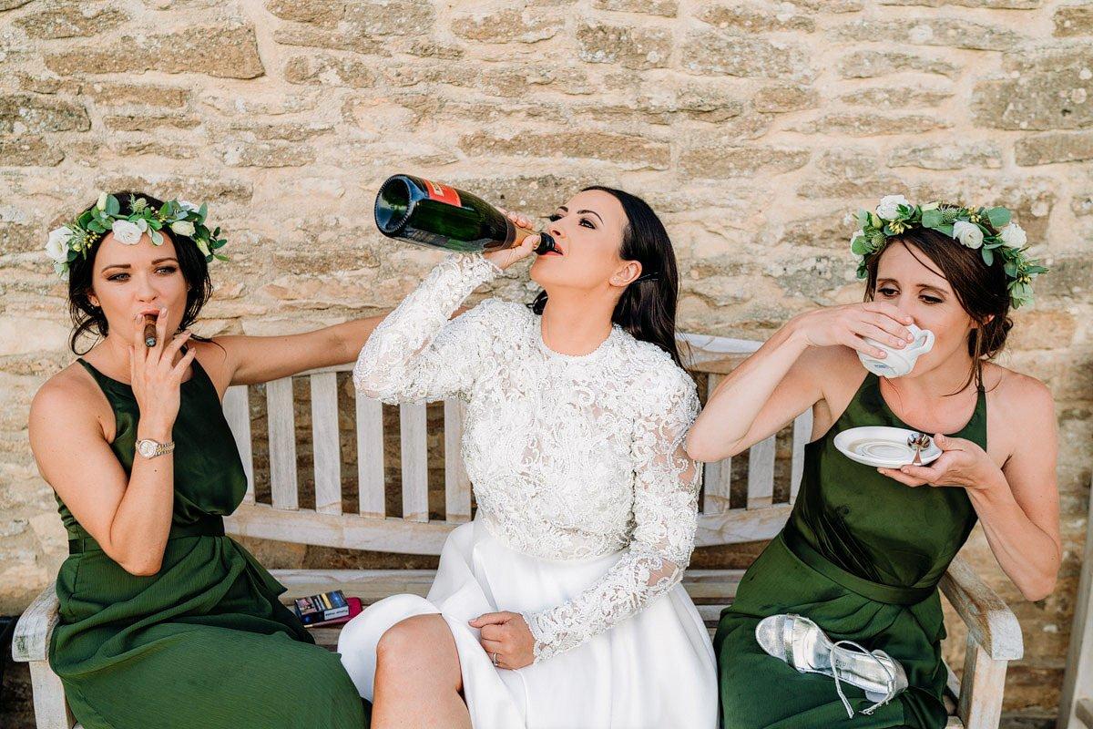 Kingscote Barn Wedding, Cotswolds 41