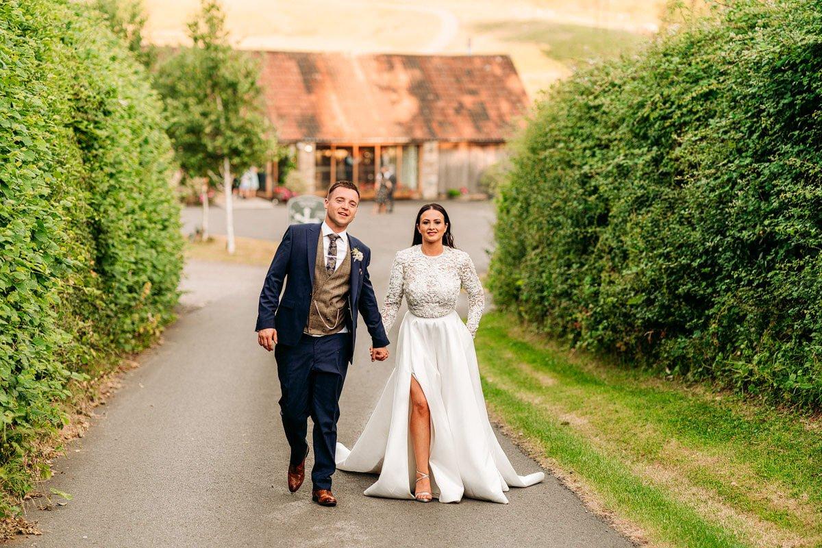 Kingscote Barn Wedding, Cotswolds 58