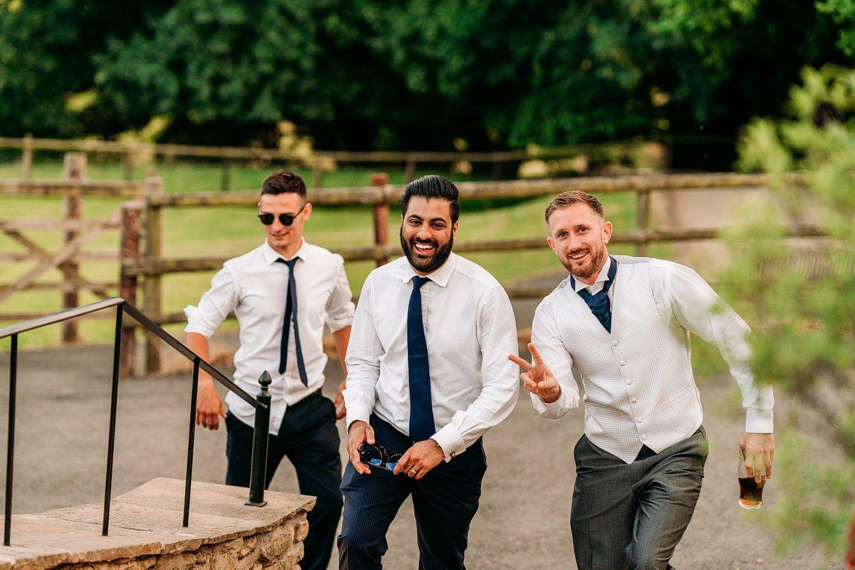 Kingscote Barn Wedding, Cotswolds 63