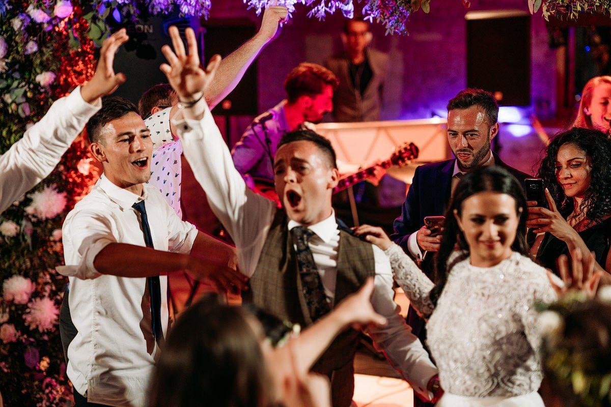 Kingscote Barn Wedding, Cotswolds 67