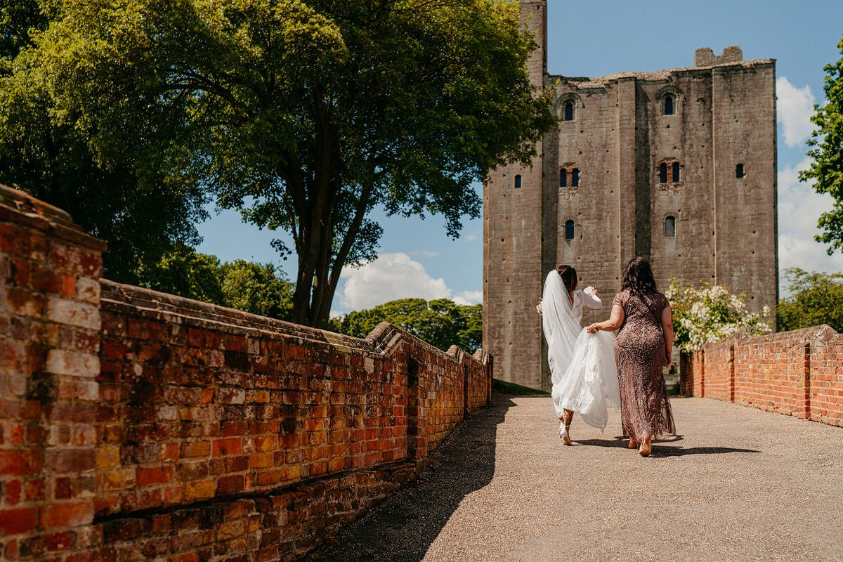 Hedingham Castle Wedding 13