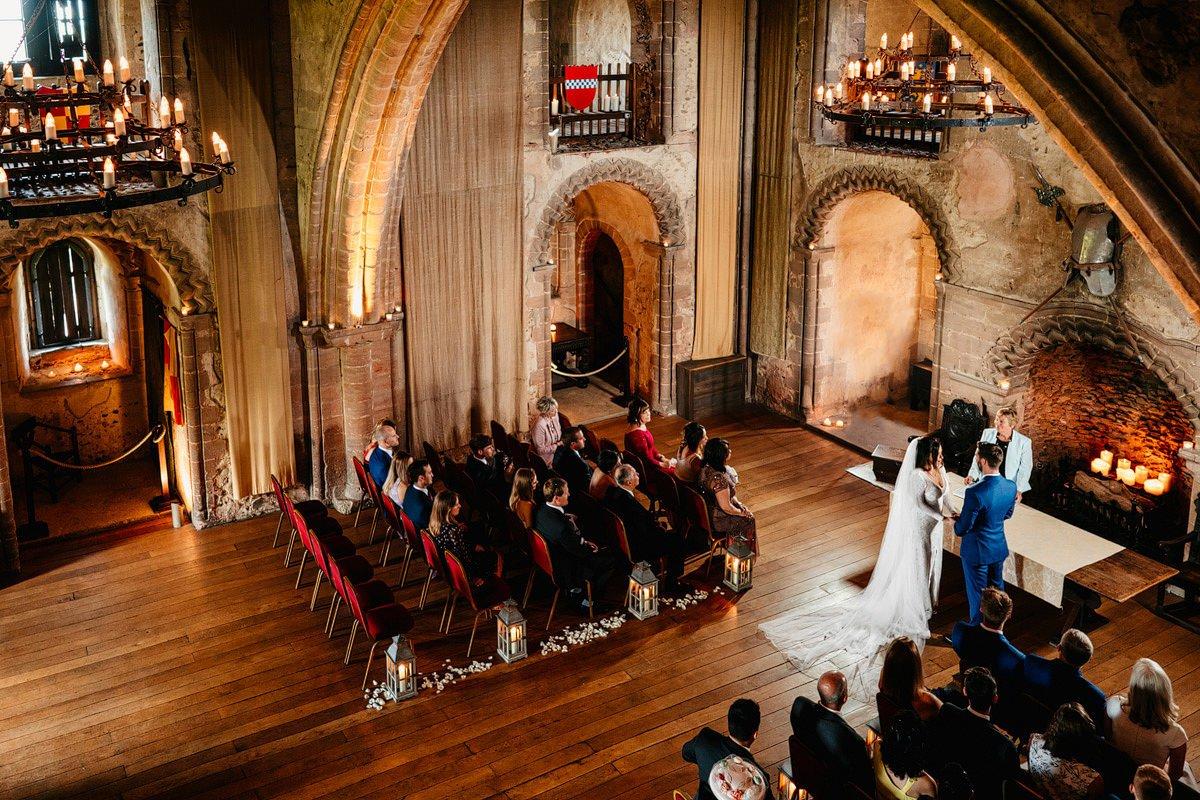 Hedingham Castle Wedding 14