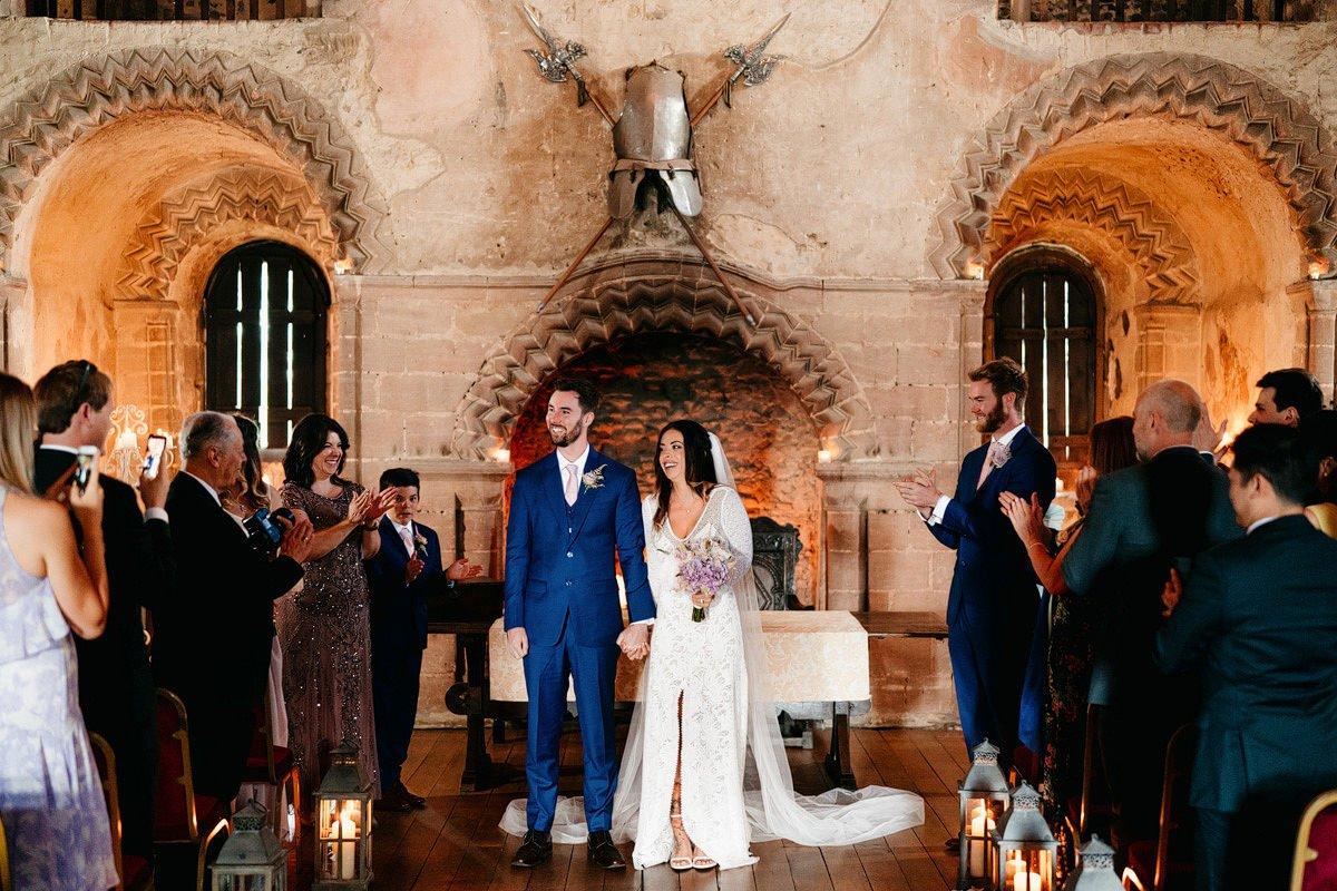 Hedingham Castle Wedding 19