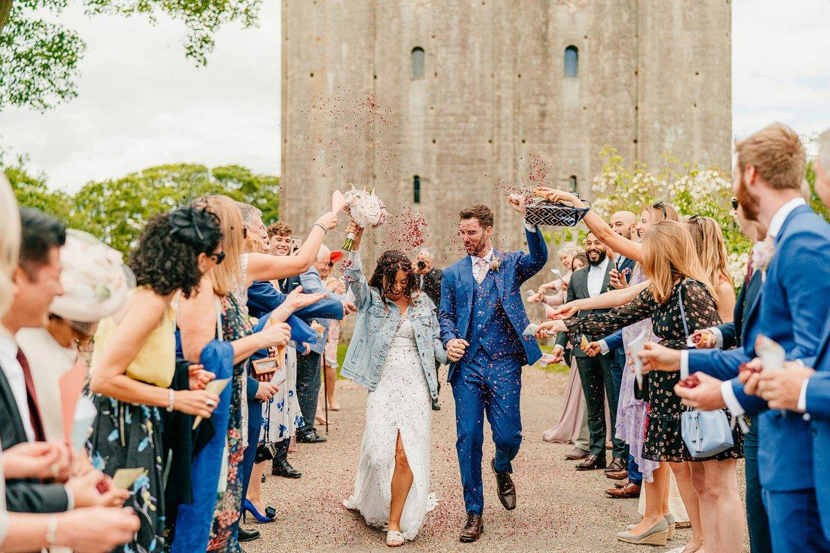Hedingham Castle Wedding 24