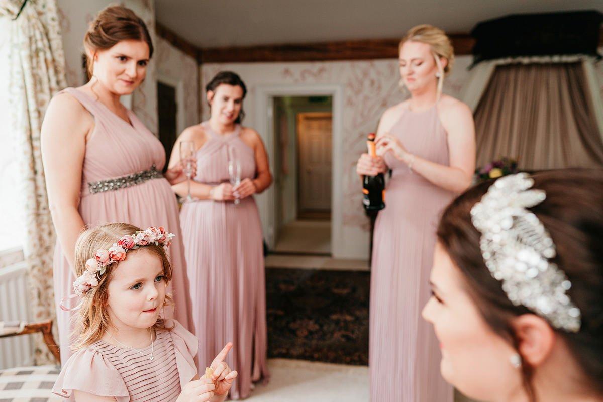 Dewsall Court Wedding Photography - Emily + Paul 7