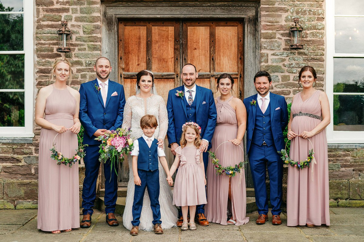 Dewsall Court Wedding Photography - Emily + Paul 40