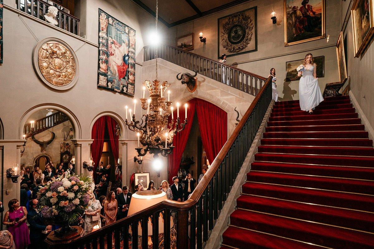 Eastnor Castle Wedding - Ilona + Shane 15