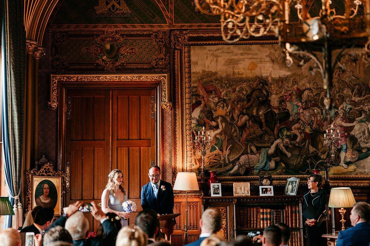 Eastnor Castle Wedding - Ilona + Shane 26