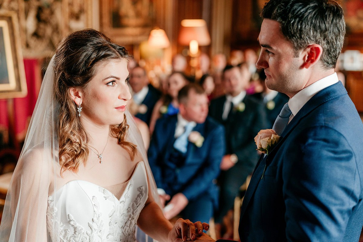 Eastnor Castle Wedding - Ilona + Shane 29