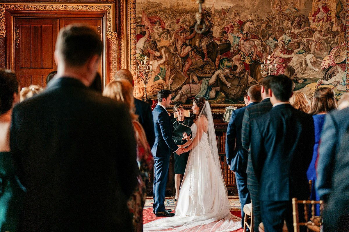 Eastnor Castle Wedding - Ilona + Shane 28