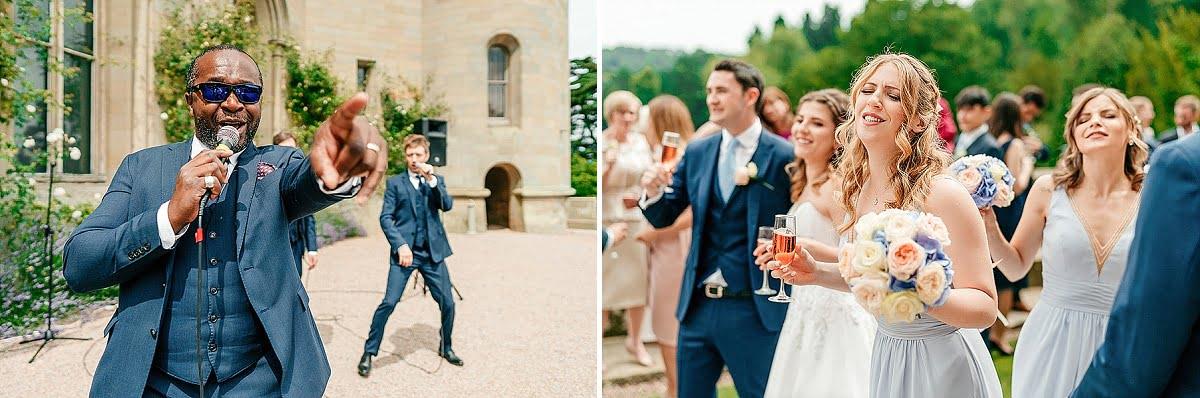 Eastnor Castle Wedding - Ilona + Shane 47