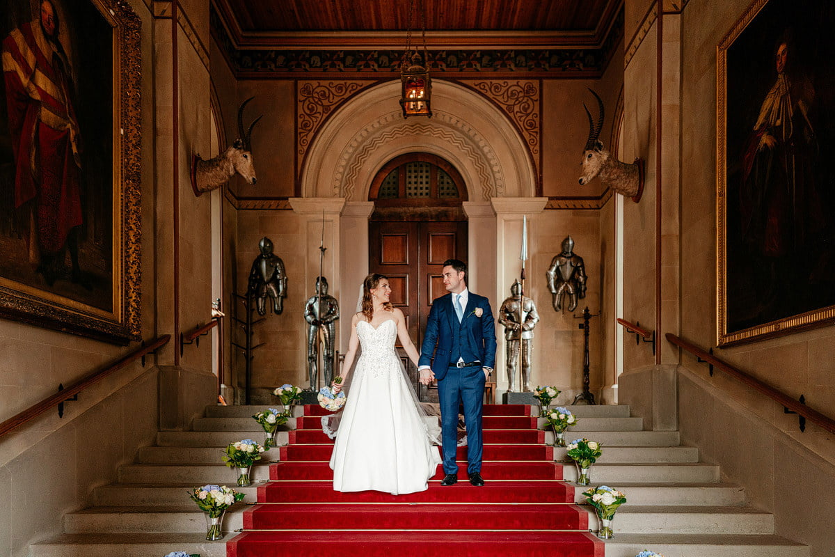 Eastnor Castle Wedding - Ilona + Shane 52