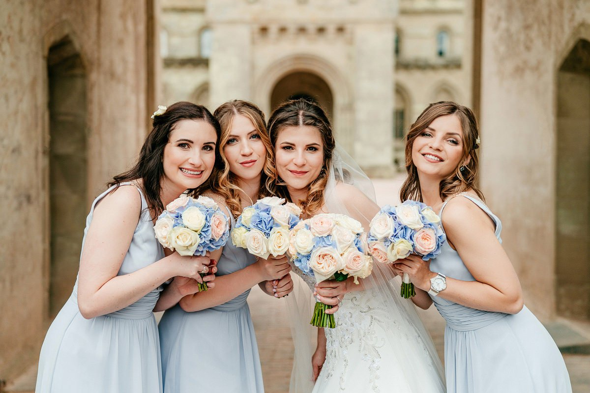 Eastnor Castle Wedding - Ilona + Shane 55