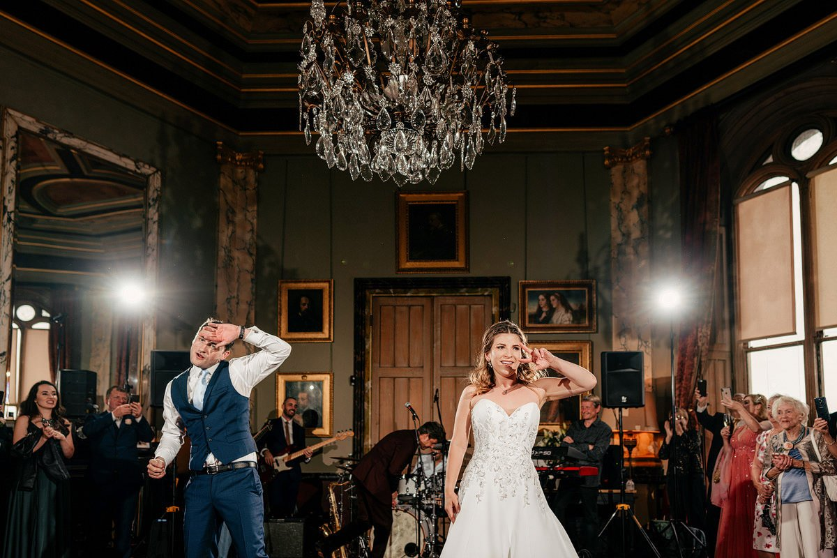 Eastnor Castle Wedding - Ilona + Shane 78
